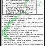 PSO Graduate Trainee Program