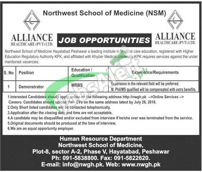 Northwest School of Medicine Jobs