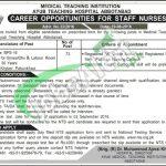 Ayub Teaching Hospital Jobs