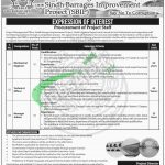 Sindh Barrages Improvement Project Jobs