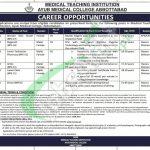 AMC Abbottabad Jobs
