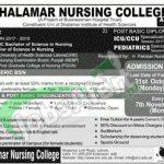 Shalamar Nursing College Lahore Admission