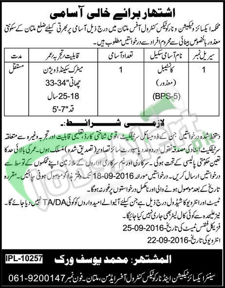 Excise Taxation Jobs