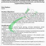 Sindh Reading Program Jobs