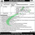 Punjab Journalist Housing Foundation Jobs