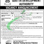 QDA Quetta Jobs