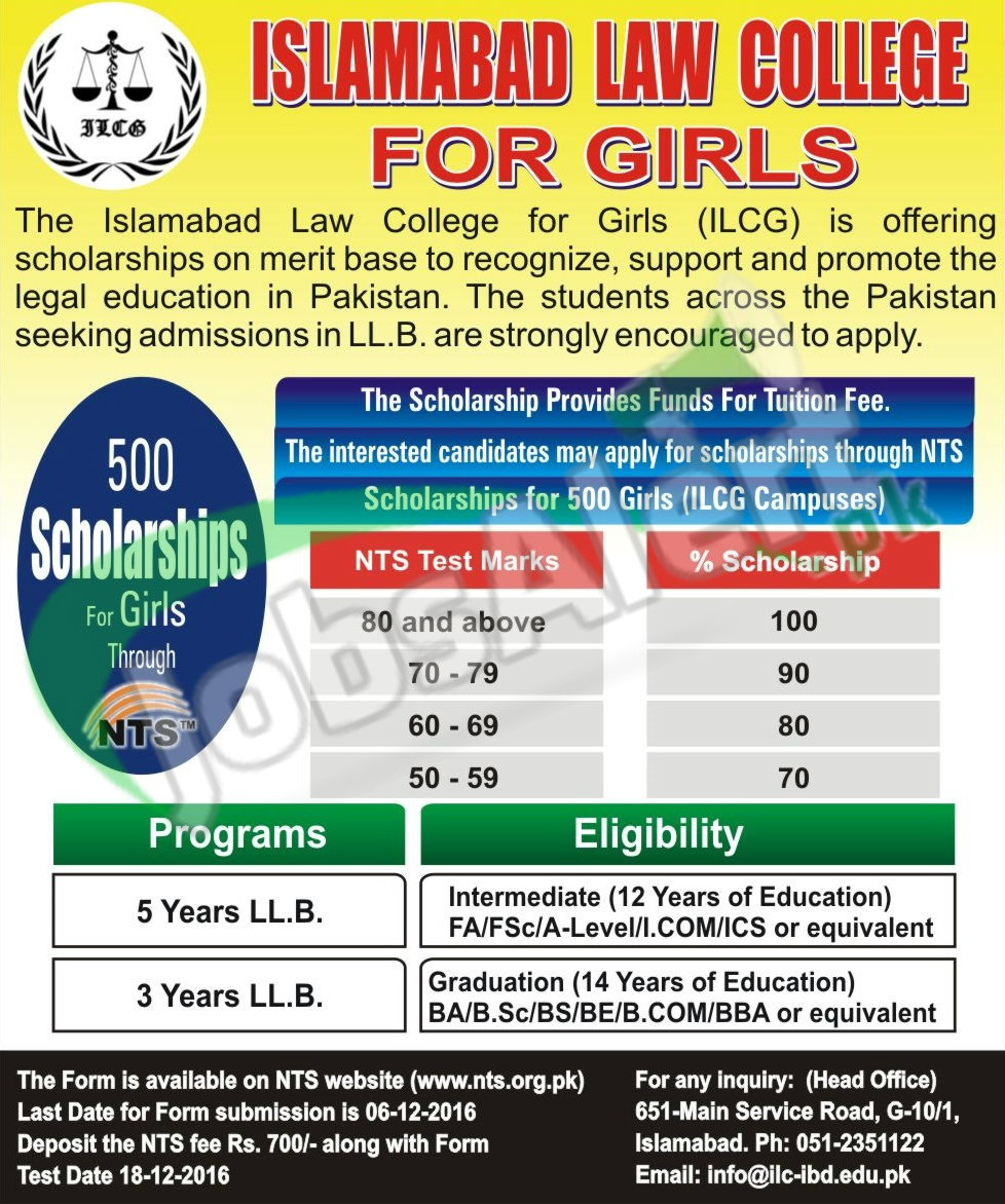 Islamabad Law College for Girls