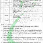 SBK University Quetta Jobs