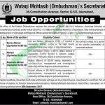 Wafaqi Mohtasib Jobs