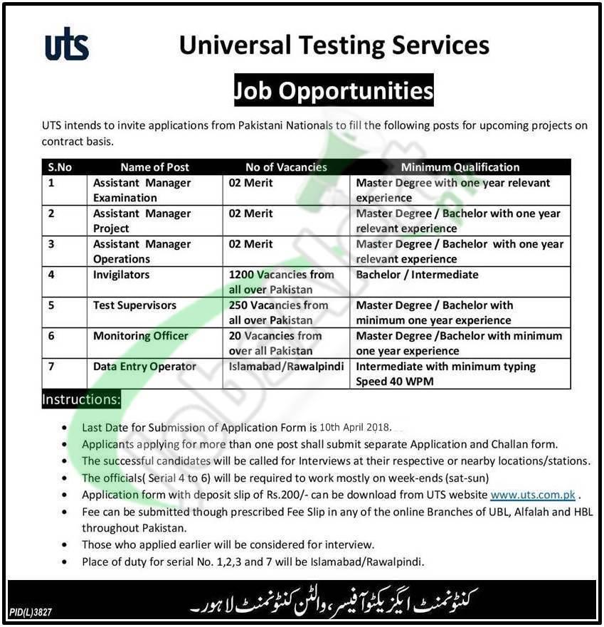 UTS Jobs