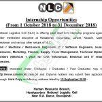 NLC Internship 2018