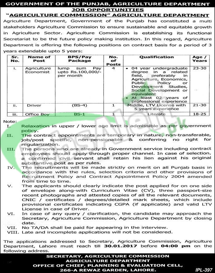 Accountant Jobs In Punjab