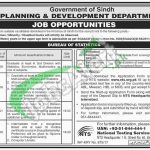 Sindh Bureau of Statistics Jobs
