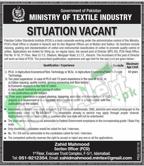 Pakistan Cotton Standards Institute