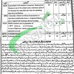 District and Session Court Lakki Marwat Jobs