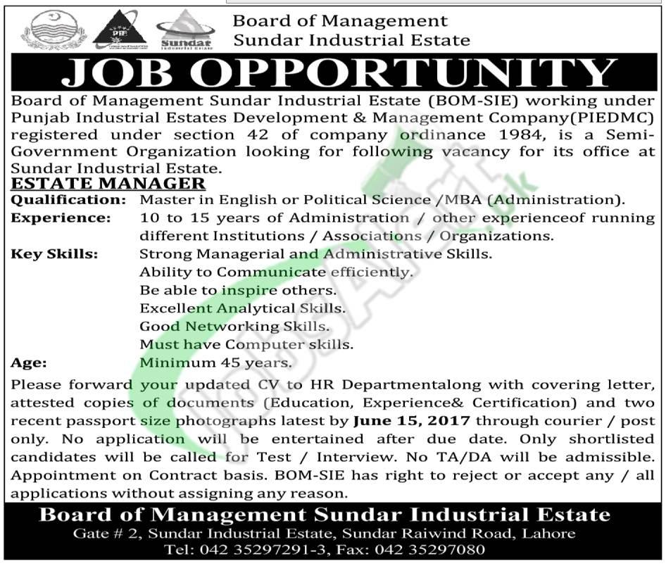 Sundar Industrial Estate Jobs