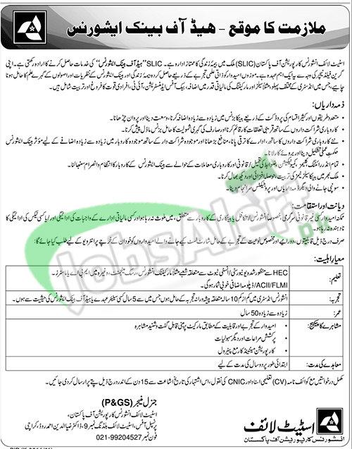 State Life Insurance Corporation of Pakistan