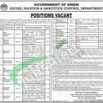 Excise Taxation & Narcotics Control Department SindH