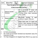 Labour and Human Resource Department Punjab Jobs