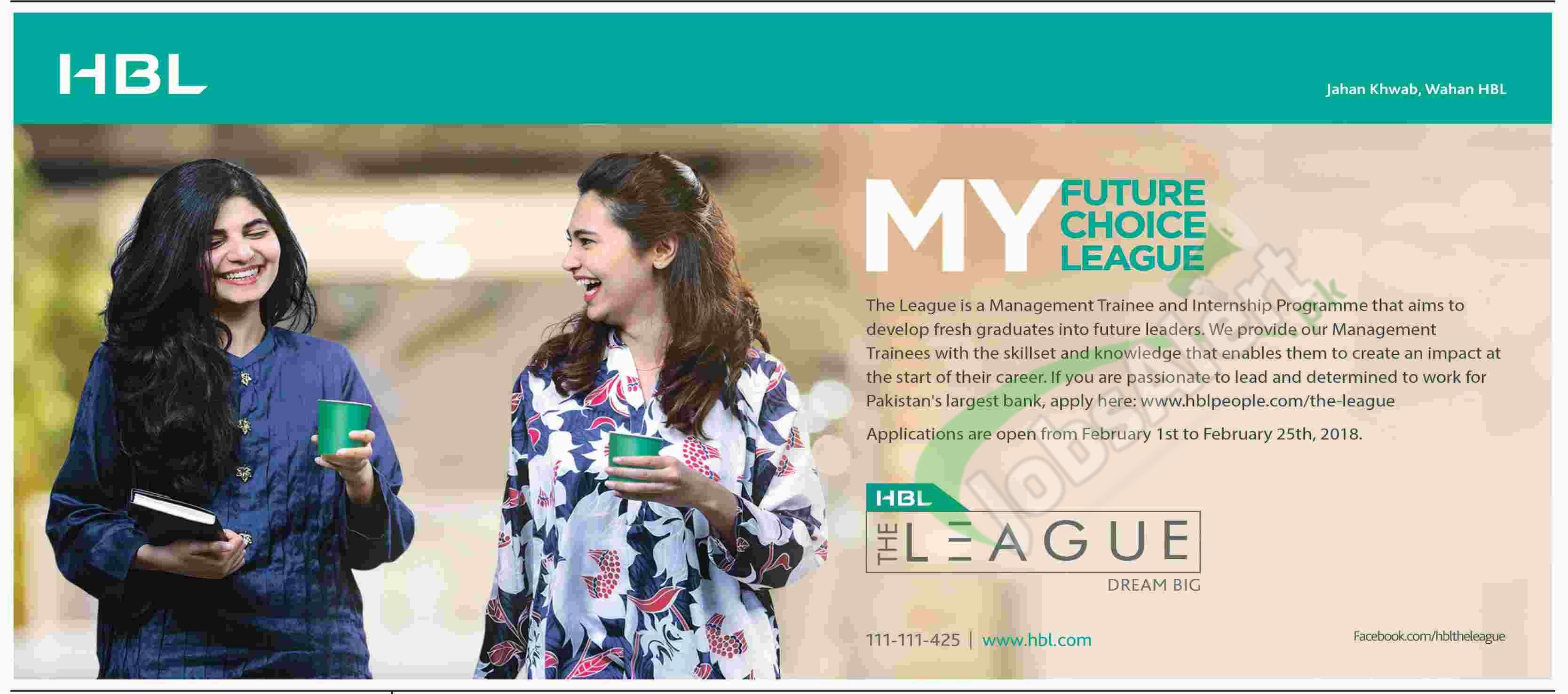 HBL Update: HBL MTO Program 2018 Management Trainee