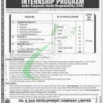OGDCL Internship Program