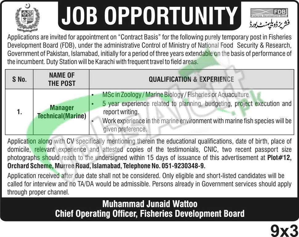 Fisheries Development Board