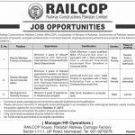 RAILCOP Jobs