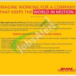 DHL Karachi Jobs