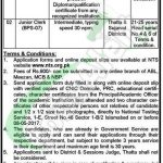 District and Session Court Thatta Jobs