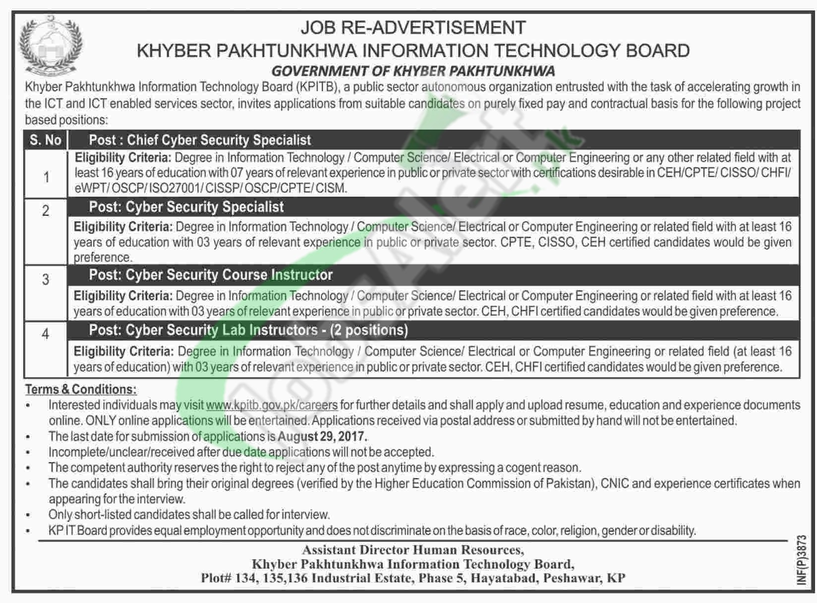 KP IT Board Jobs