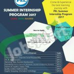 PEL Summer Internship Program
