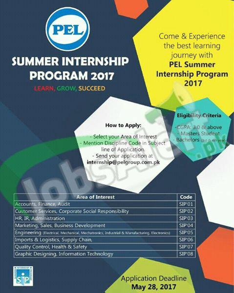PEL Summer Internship Program