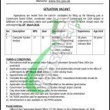 Cantonment Board Clifton Jobs 2019