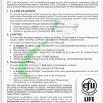 EFU Life Insurance Jobs