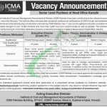 ICMA Pakistan Jobs