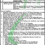 Nowshera Medical College Jobs
