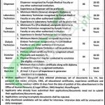 DHQ Hospital Muzaffargarh Jobs