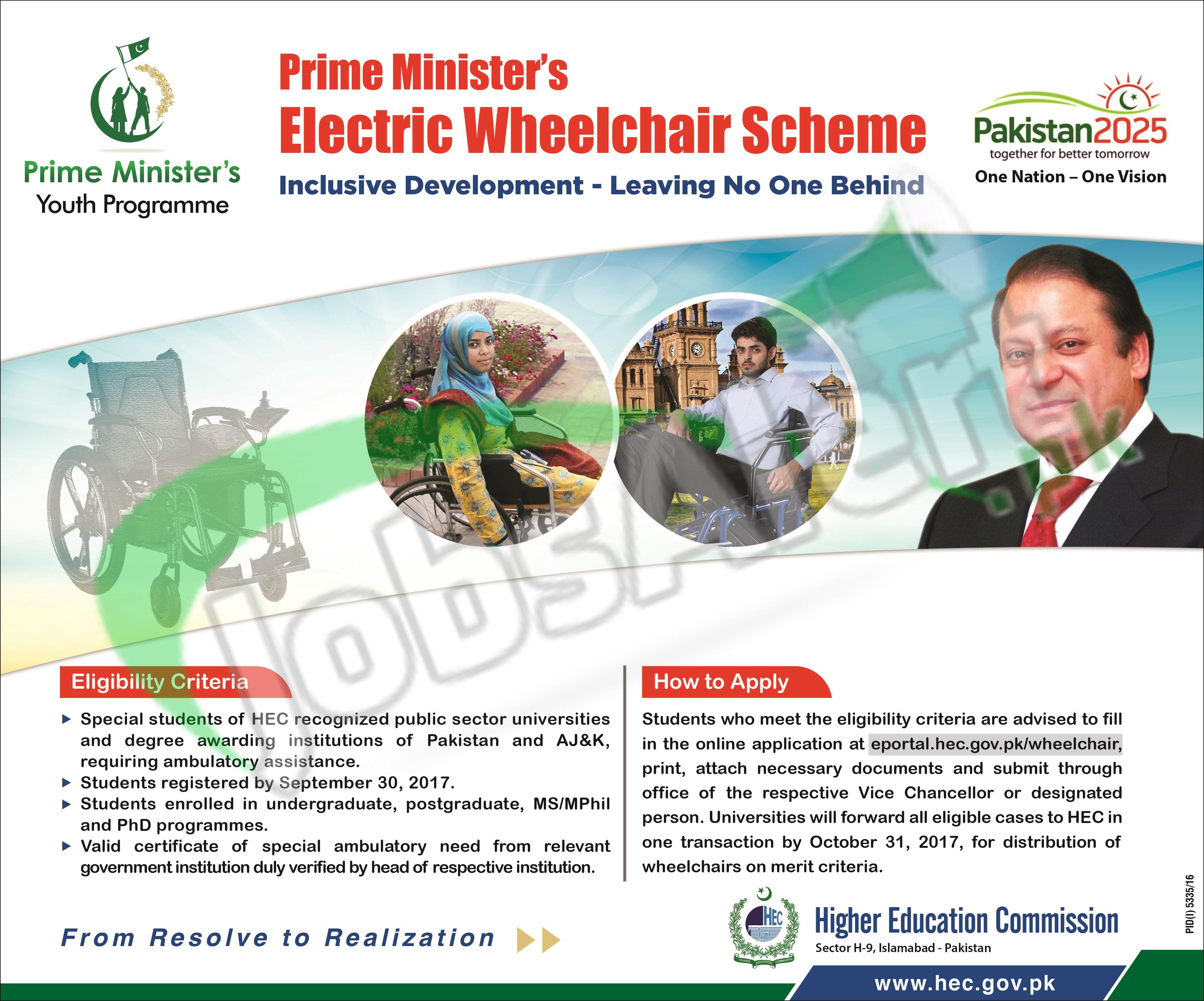 PM ELECTRIC Wheelchair Scheme
