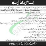 Pakistan Model Educational Institutions Foundation PMEIF Jobs 2019