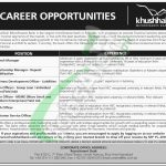 Khushhali Bank Jobs