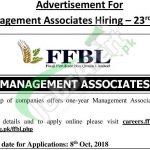 Fauji Fertilizer Bin Qasim Management Associate Program