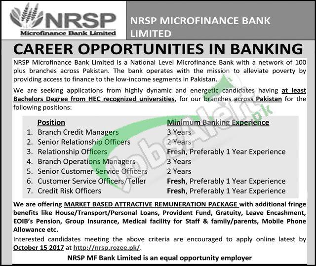 NRSP Microfinance Bank