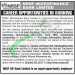 NRSP Microfinance Bank Jobs