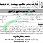 Ministry of Federal Education Jobs