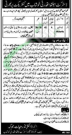 Health Department Khushab Jobs