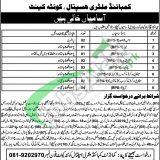 CMH Quetta Jobs