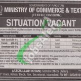 Ministry of Commerce & Textile Jobs