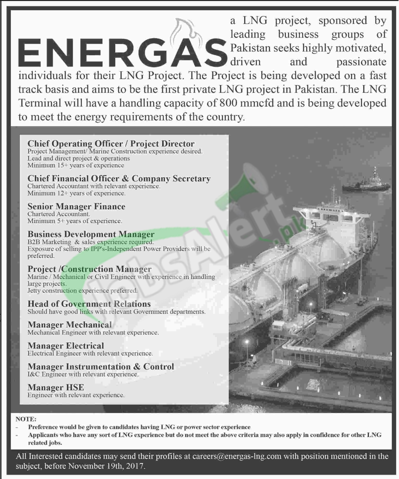 LNG Jobs