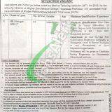 Khyber Girls Medical College Peshawar Jobs