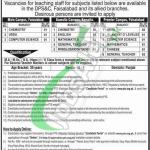 DPS Faisalabad Jobs